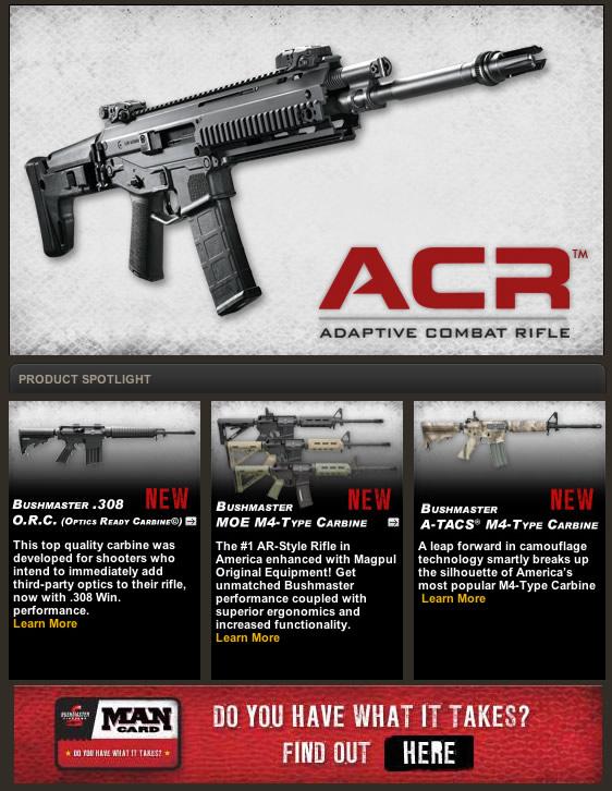 Bushmaster Adaptive Combat Rifle