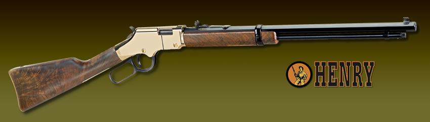 Henry Lever action Rifles