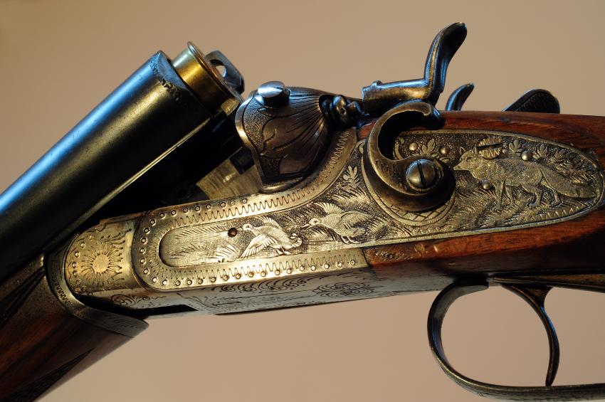 Engraved Shotgun  U2013 Nesbit U0026 39 S Pennsylvania Used Guns  U2013 We