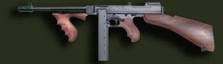 Thompson Sub-Machine Gun - wanted to buy used Machine Guns