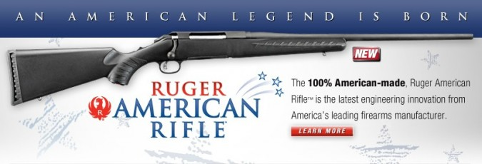 Ruger All American Made Rifle