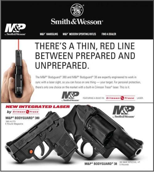 New M&P® BODYGUARD® Handguns with Crimson Trace®