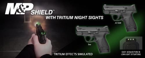 NEW M&P® Shield™ Tritium Night Sights