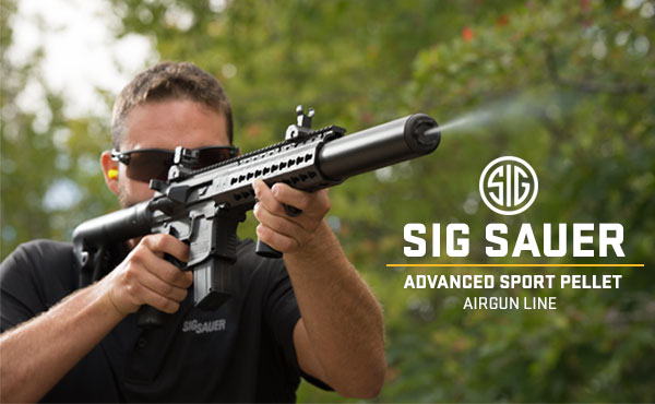 SIG SAUER Advanced Sport Pellet Airgun Line
