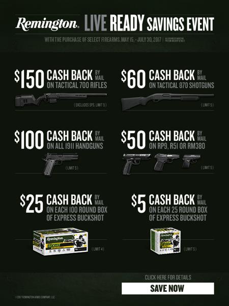 Remingtong Rebates