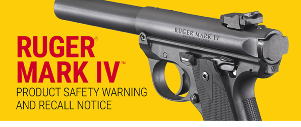 Ruger Recalls Mark IV