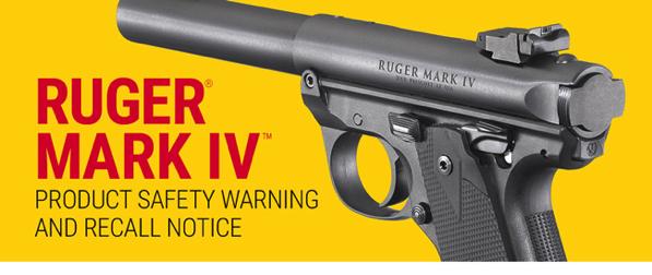 Ruger Recalls Mark IV