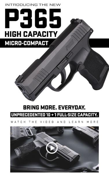 P365 Micro-Compact Pistol