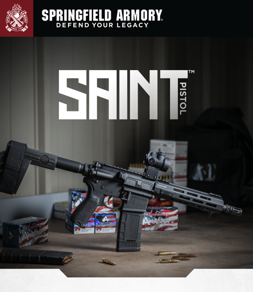 New SAINT™ AR-15 Pistol in .300 BLK