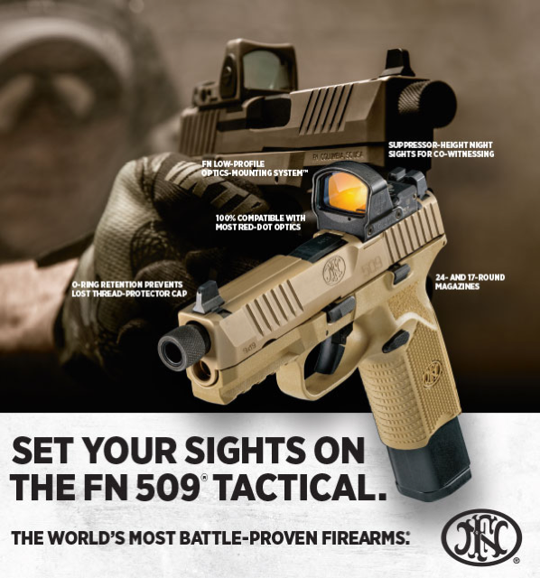 FN NEW PRODUCT FN 509® TACTICAL
