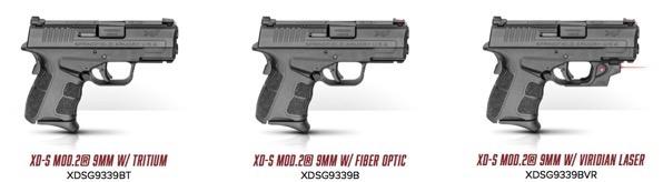 XD-S Mod 2 versions