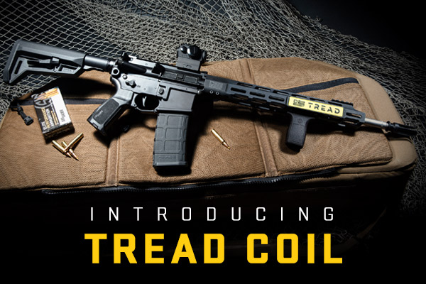 The new TREAD COIL is fully equipped with some of the most popular TREAD accessories.