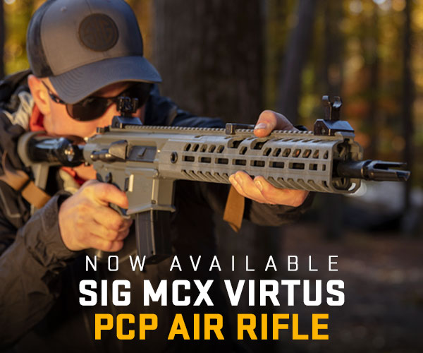 The pre-charged pneumatic (PCP) MCX Virtus