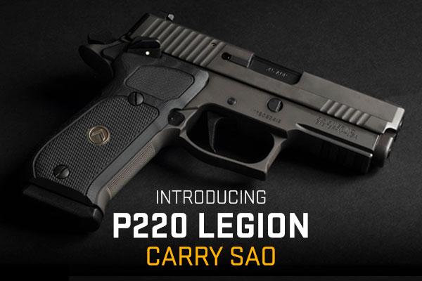P220 LEGION Carry SAO in .45 Auto,