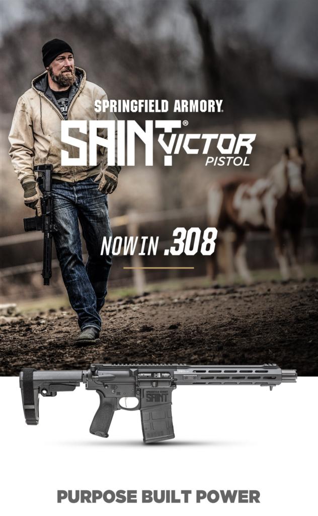 new SAINT Victor Pistol in .308