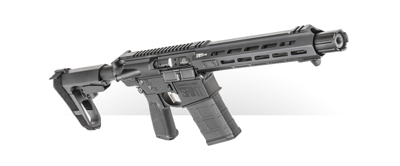 the all new SAINT Victor Pistol in .308 is built for rugged dependability and available now from Springfield Armory.