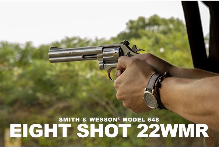 8shot S&W M648-22c